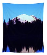 Mount Rainer At Tipsoe Lake In The Sunrise Tapestry