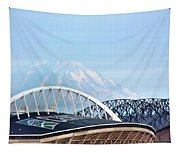Mount Rainier Backdrop Tapestry