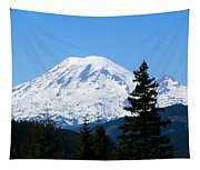 Mount Rainier Panorama Tapestry