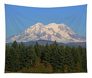 Mount Rainier Washington Tapestry