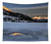 Mount Rundle And Vermillion Lakes Tapestry