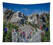 Mount Rushmore National Memorial Tapestry