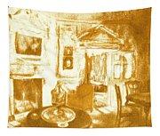 Mount Vernon In Golden Light Tapestry