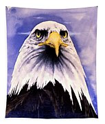 Mountain Bald Eagle Tapestry