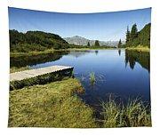 Mountain Lake Tapestry