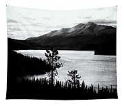 Mountain Outline Tapestry