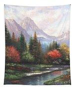 Mountain Peaks Tapestry