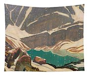 Mountain Solitude Tapestry