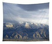 Mountain Storm Tapestry