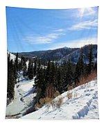 Mountain Sun Tapestry