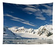 Mountains And Glaciers, Paradise Bay Tapestry
