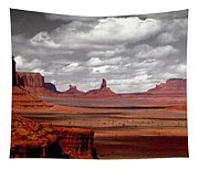 Mountains, West Coast, Monument Valley Tapestry