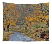 Moving On Down The Road Tapestry