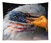 Mr. American Eagle Tapestry