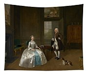 Mr And Mrs Atherton Tapestry