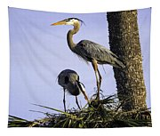 Mr. And Mrs. Heron Tapestry