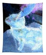 Mr. Blue Bunny Tapestry