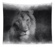 Mr Lion Photo Art 01 Tapestry