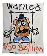 Mr. Potato Head Gone Bad Tapestry
