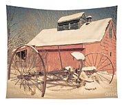 Mt. Cube Farm Old Sugar Shack Tapestry