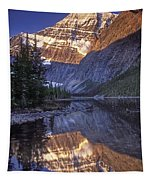 Mt Edith Cavell Reflection Tapestry