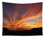 Mt Ord Sunset Arizona Tapestry