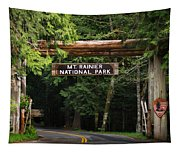 Mt Rainier Gateway Tapestry