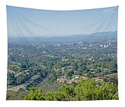 Mt. Soledad - View To The North Tapestry