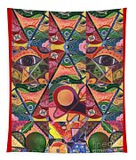 Much More Than A Face - A Joy Of Design Series Compilation Tapestry