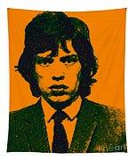 Mugshot Mick Jagger P0 Tapestry