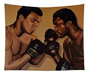 Muhammad Ali And Joe Frazier Tapestry