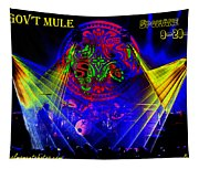 Mule #14 Enhanced Image With Text Tapestry