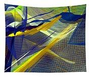 Multicolor Mesh Tapestry