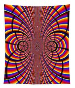 Multicolored Abstract Tapestry