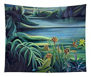 Mural Bird Of Summers To Come Tapestry