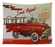 Murray Fire Truck Tapestry