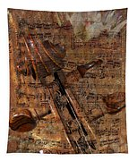 Music Collage Tapestry