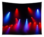 Music In Red And Blue - The Wonderful Sound Of Nightlife Tapestry