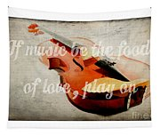 Music Lover Card Tapestry