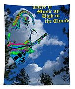 Music Up In The Clouds Again Tapestry