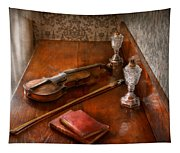 Music - Violin - A Sound Investment  Tapestry