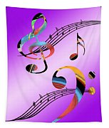 Musical Illusion Tapestry