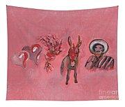 My Last Valentine Tapestry