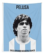 My Maradona Soccer Legend Poster Tapestry