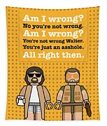 My The Big Lebowski Lego Dialogue Poster Tapestry