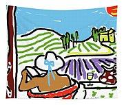 My Tuscany Dream 2 Tapestry