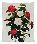 Myrtle Leaved Camellia Tapestry