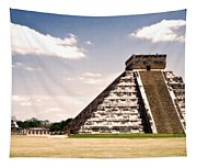 Mysterious Chichen Itza Tapestry