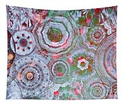 Mysterious Circles 3 Tapestry