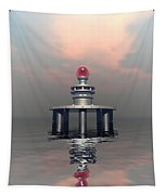 Mysterious Metallic Structure Tapestry